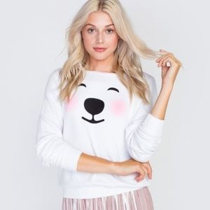 LIMITED EDITION Wildfox COCA COLA Bear Sweater (S)